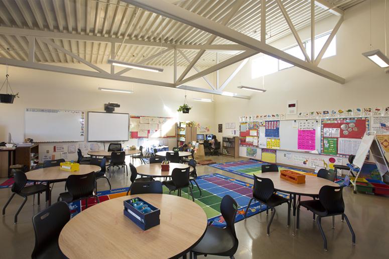 Elementary Classrooms Of The Future : Atkin olshin schade architects sweeney elementary school